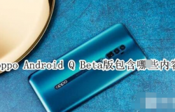 oppo Android Q Beta版包含哪些内容 oppo Android Q Beta版介绍